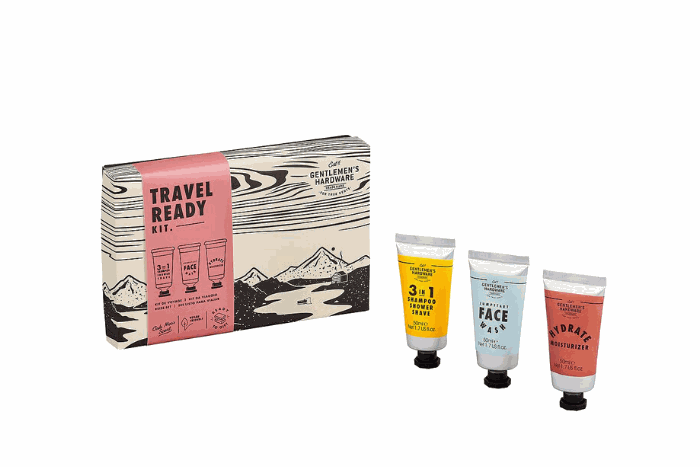 Gifts For Men Australia - Travel Ready Kit - W&W