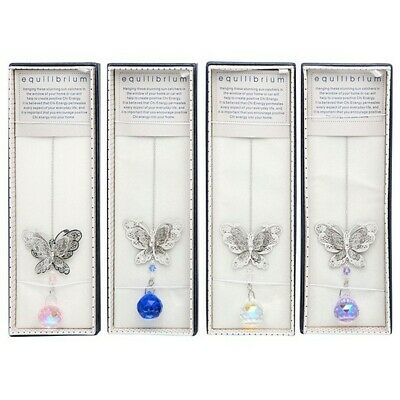 Butterfly (All) Close Up - Equilibrium Crystal Suncatcher