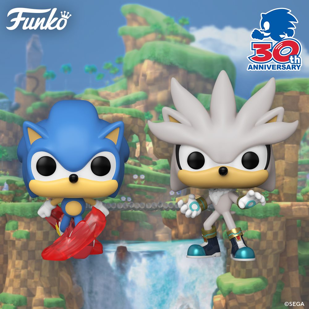 Sonic the Hedgehog - 30th Anniversary Pop! Vinyls