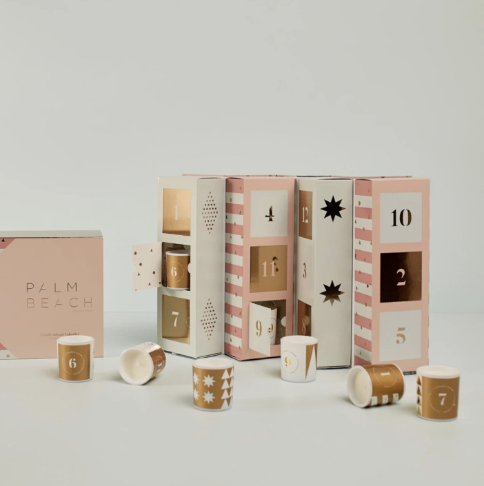 Candle Advent Calendar - Palm Beach Collection (Christmas 2020)