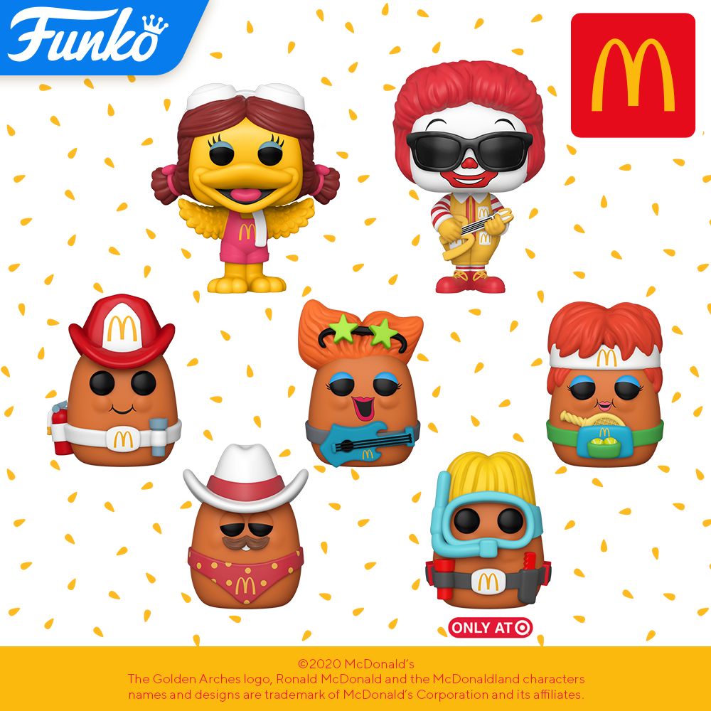 McDonald's - All Pop! Vinyl's