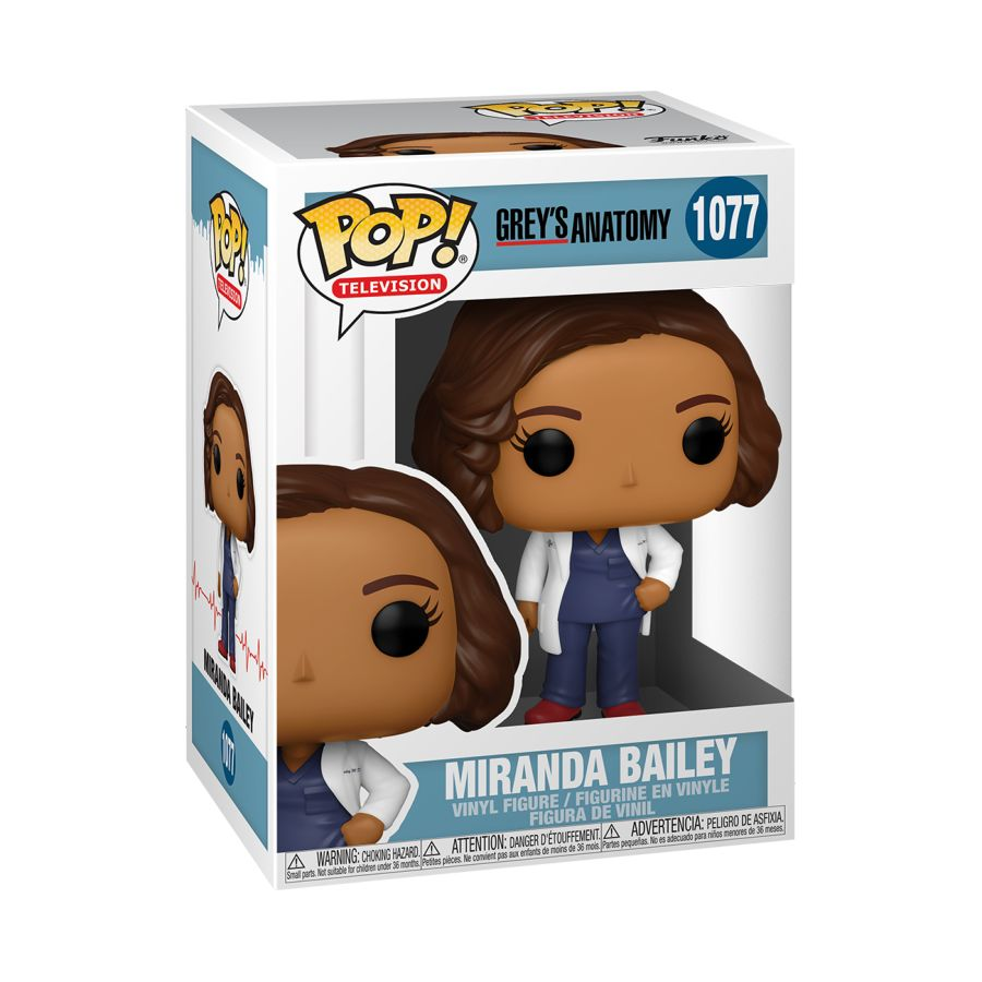 Grey's Anatomy - Miranda Bailey Pop! Vinyl