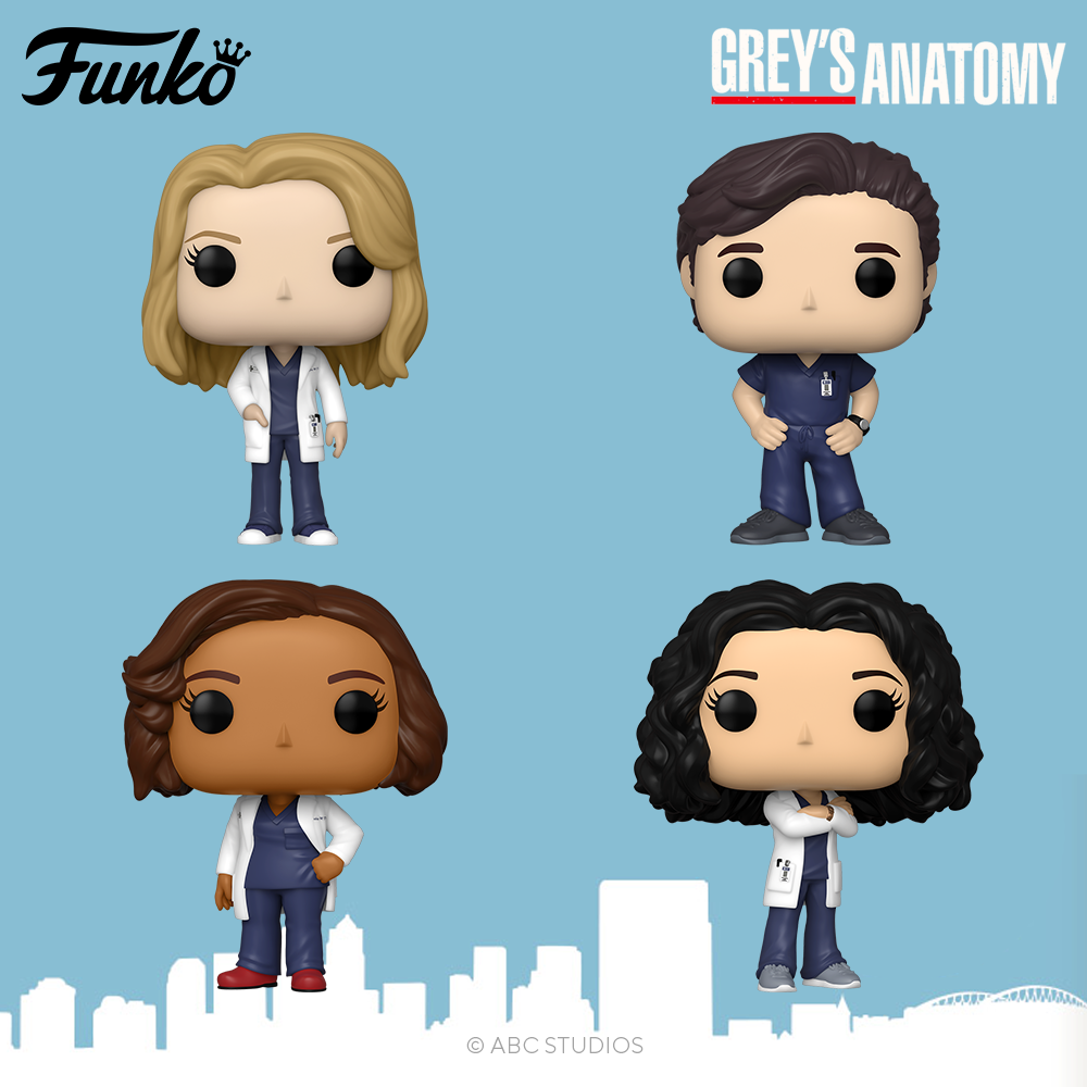 Grey's Anatomy - Pop! Vinyl's ALL