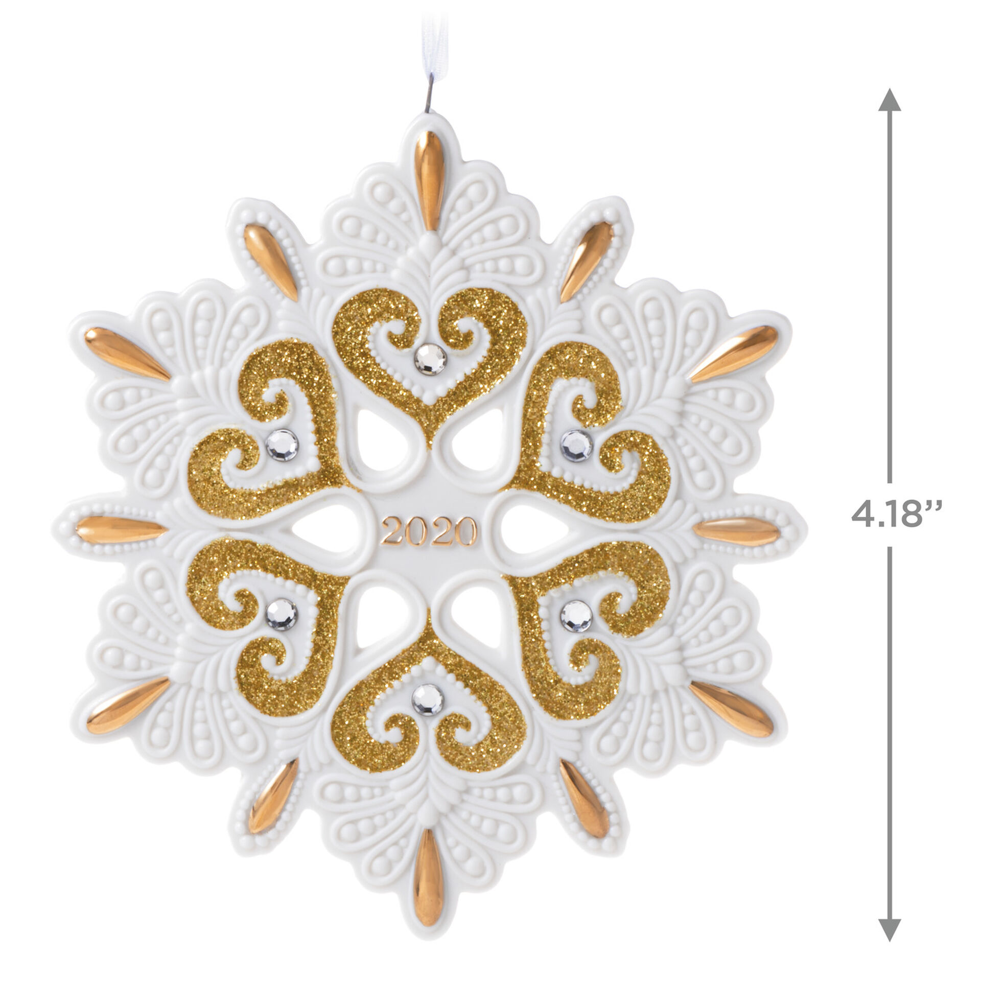 2020 Hallmark Keepsake Ornament - 2020 Porcelain Snowflake Ornament