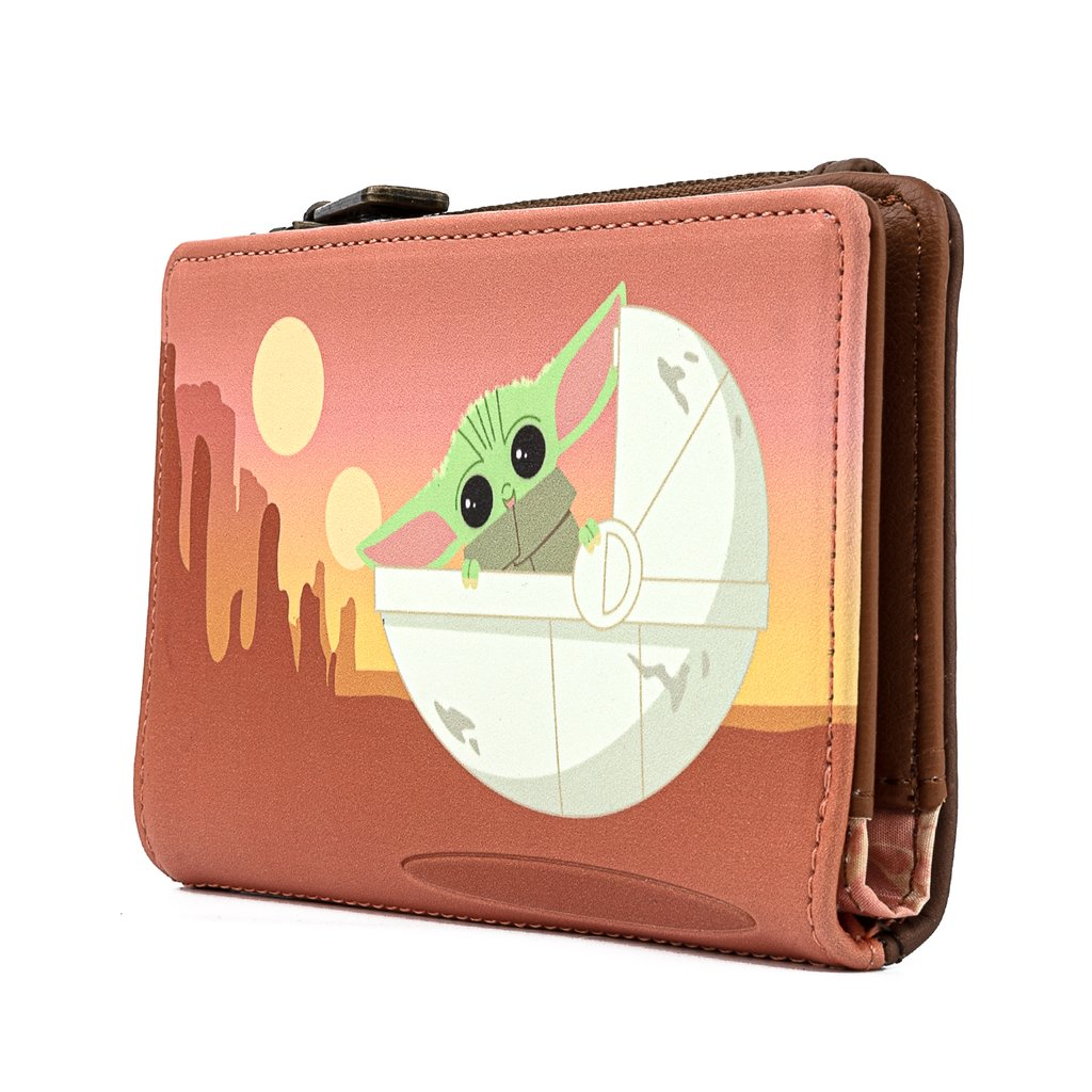 Star Wars: The Mandalorian - The Child Wait For Me Purse - Loungefly