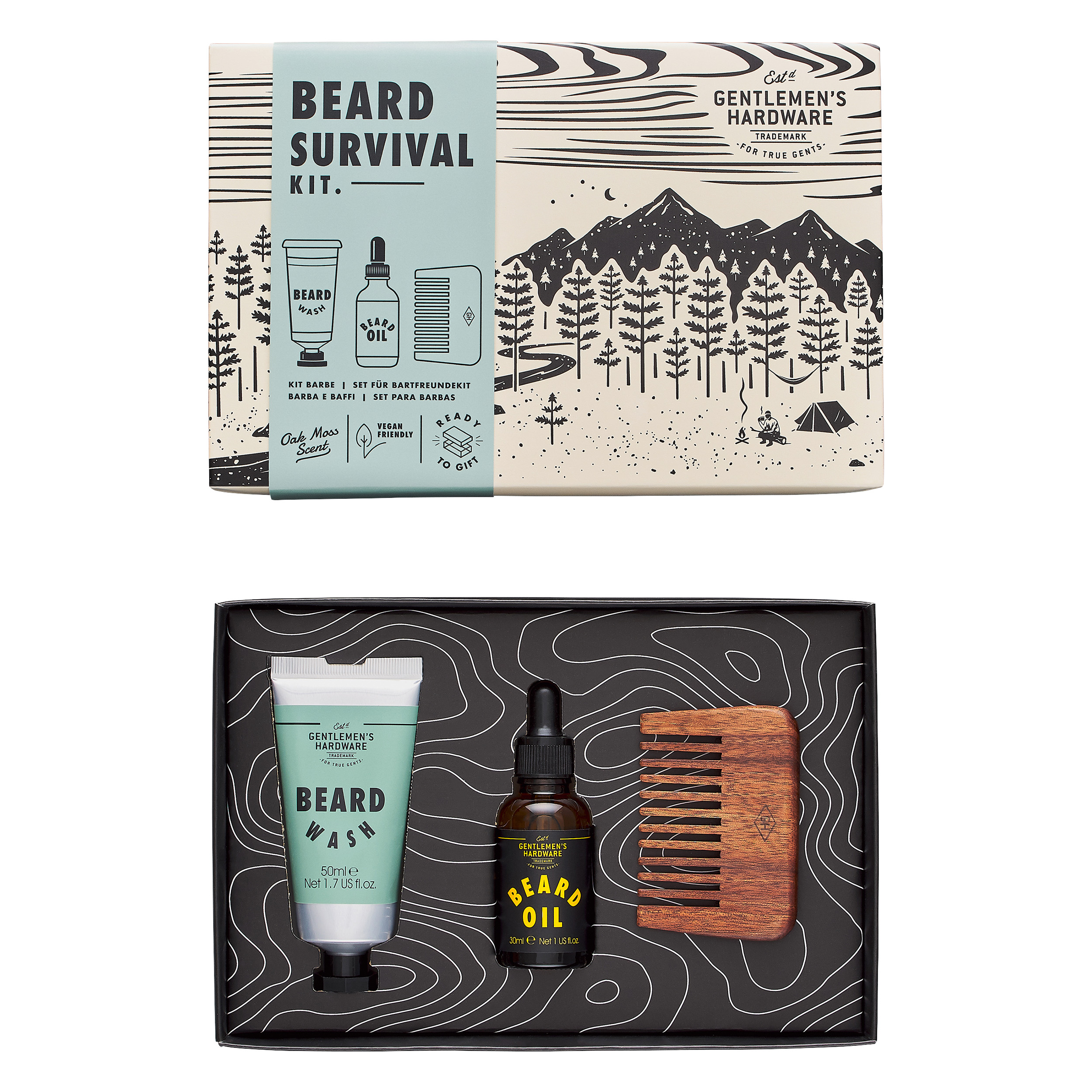 W&W BEARD SURVIVAL KIT