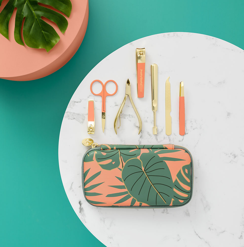 Pretty Useful Tools MANICURE KIT CORAL REEF