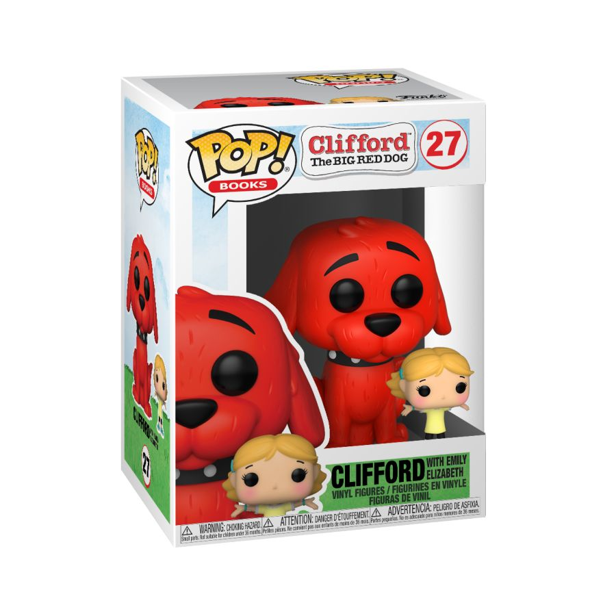 Clifford the Big Red Dog - Clifford with Emily Pop! Vinyl (Boxed)