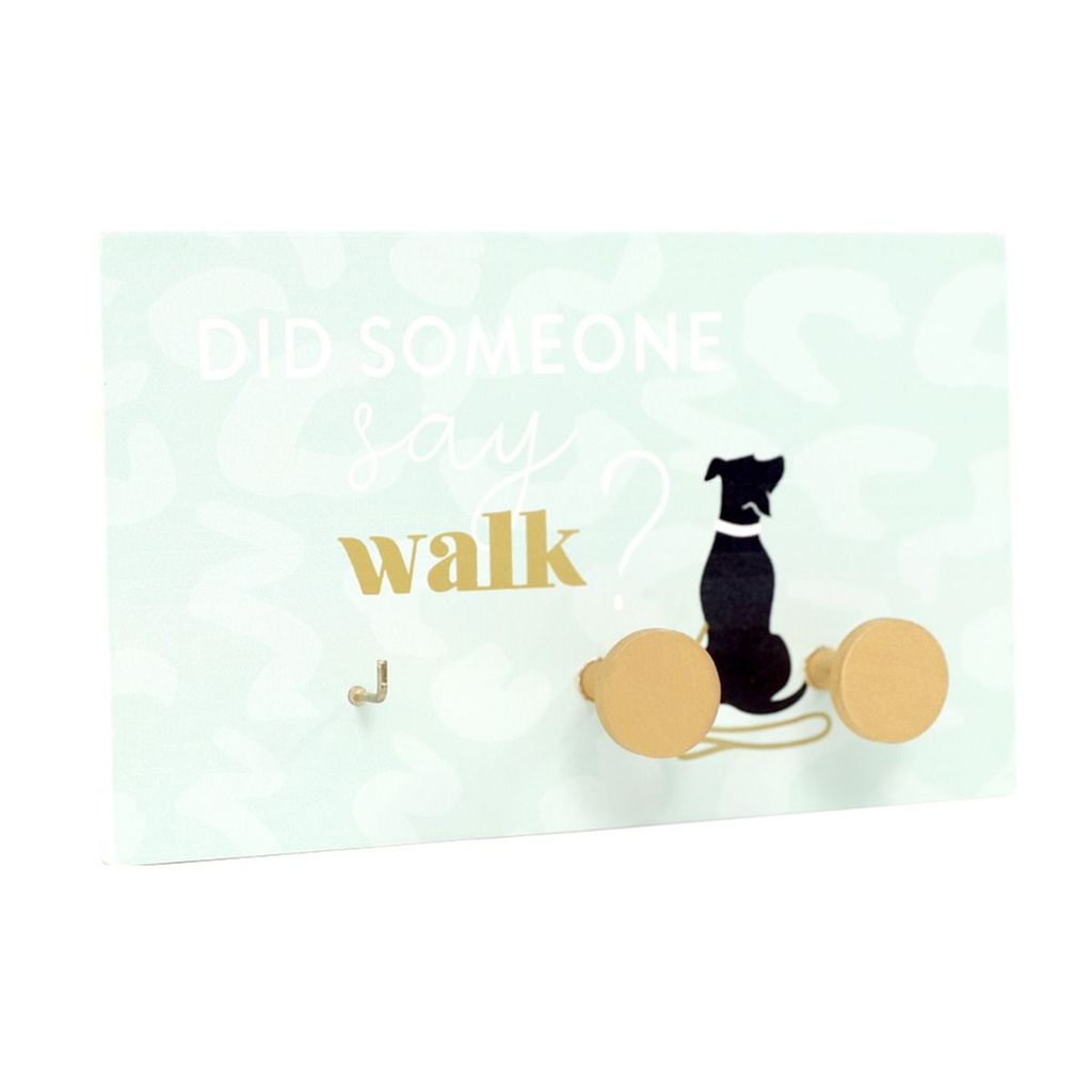 Playful Pets Walk Time Lead & Key Hanger - Splosh
