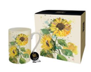 Bug Art - Floral Mugs (Sunflower)