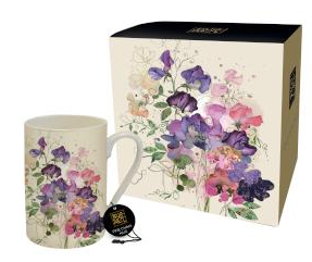 Bug Art - Floral Mugs (Sweet Pea)