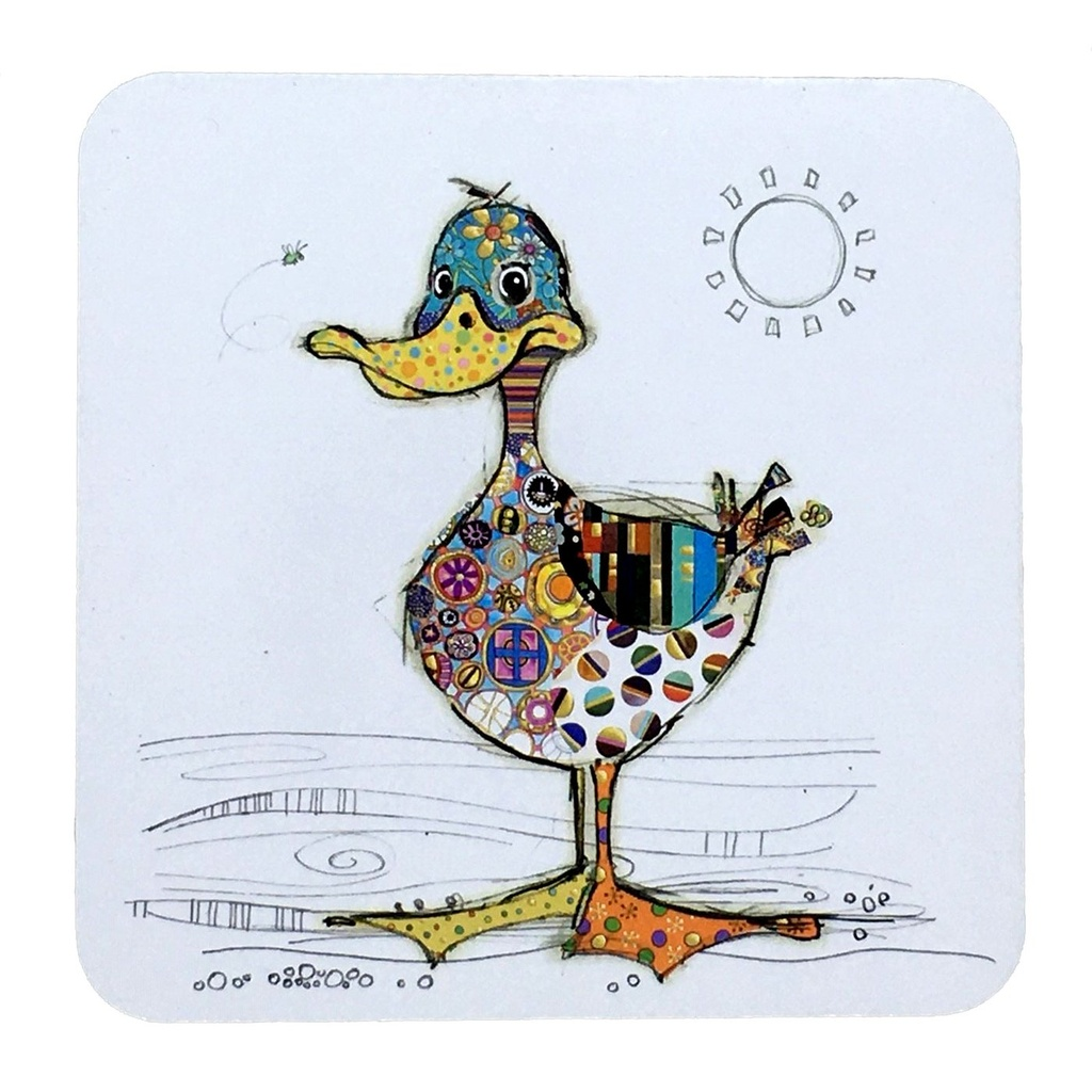 Bug Art - Kooks Coasters (Duck)