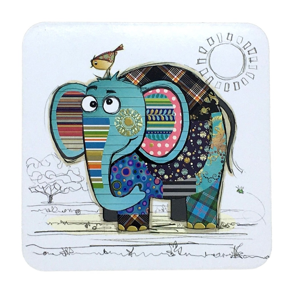 Bug Art - Kooks Coasters (Elephant)