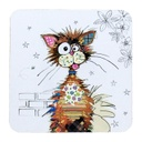 Bug Art - Kooks Coasters (Cat)