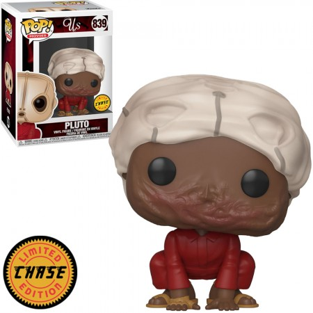Pluto with Mask - Us Pop! Vinyl (With Chase)