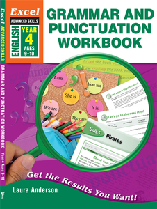 EXCEL ADVANCED SKILLS - GRAMMAR AND PUNCTUATION WORKBOOK YEAR 4