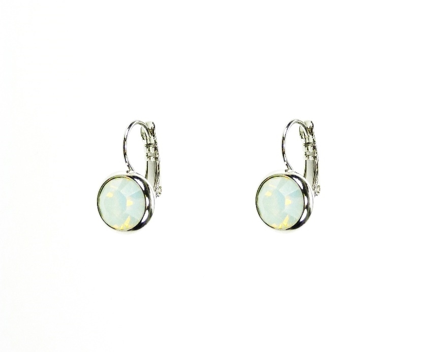 Swarovski Crystal (Medium Stone) French Clip Earrings