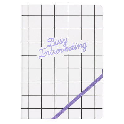Busy Introverting A5 Notebook - Yes Studio