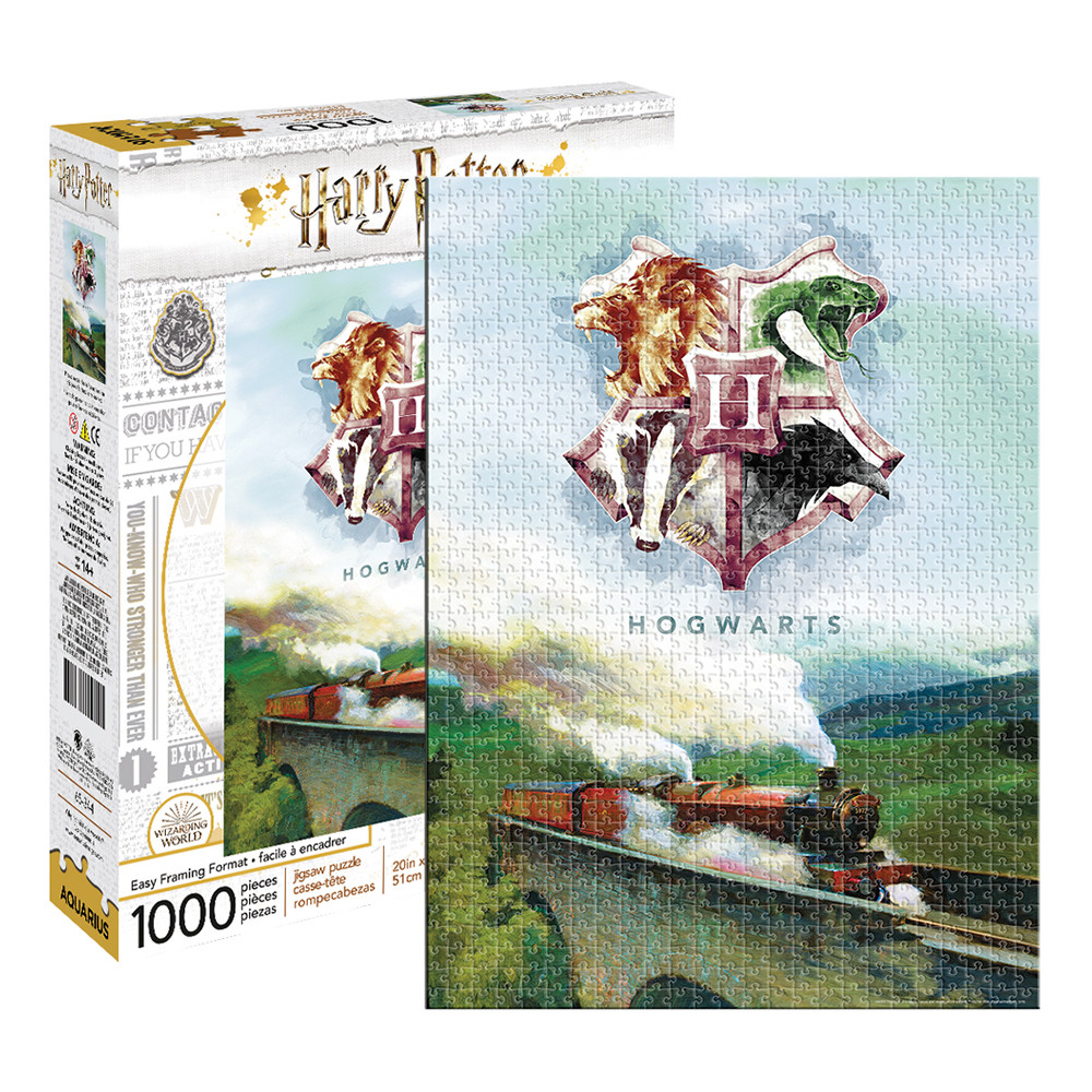 Harry Potter - Hogwarts Express Train 1000pc Puzzle