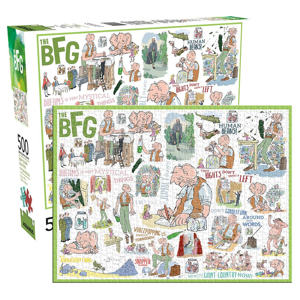 Roald Dahl - The BFG 500pc Puzzle