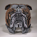 [EE6008544] Bulldog Bust - Jasnor Edge Sculpture
