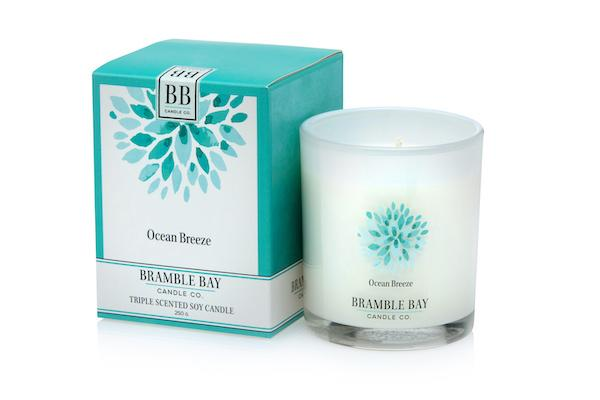 Bramble Bay Co - Ocean Breeze 270g Soy Wax Candle
