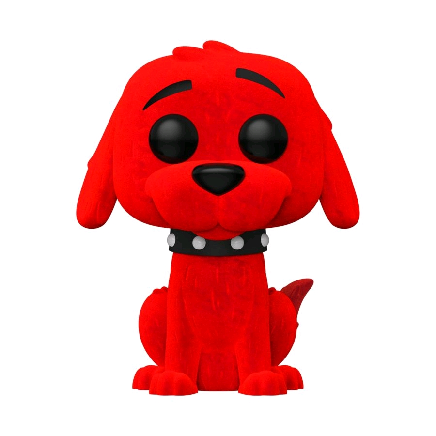 Clifford the Big Red Dog - Clifford Flocked US Exclusive Pop! Vinyl