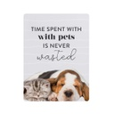 [PET026] Playful Pets Time Spent Ceramic Magnet - Splosh
