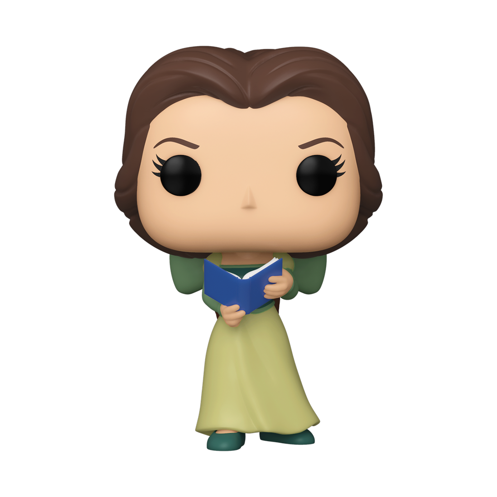 Beauty and the Beast - Belle in Green Dress w/ Book (30th Anniversary) Pop! Vinyl ECCC 2021