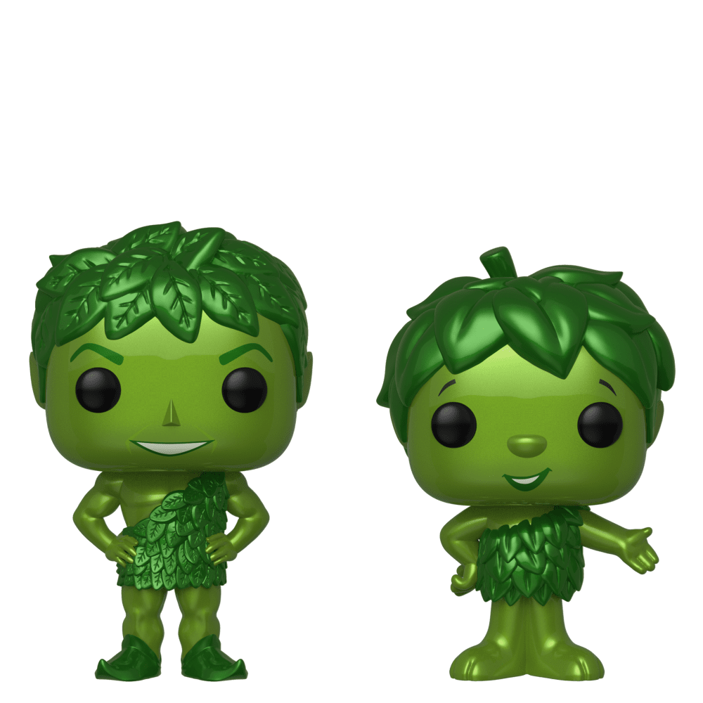 Ad Icons - Green Giant & Sprout Metallic US Exclusive Pop! Vinyl 2-pack