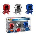 Superman - Superman Chrome NYCC 2018 Exclusive Pop! Vinyl 3-pack