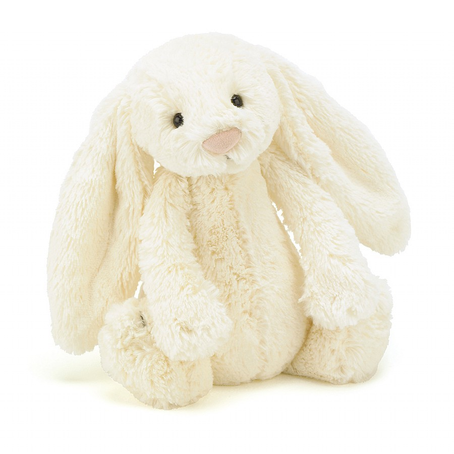 Jellycat Bashful Cream Bunny (Medium)
