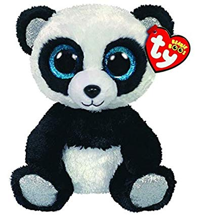 Beanie Boos Regular Bamboo - Black and White Panda