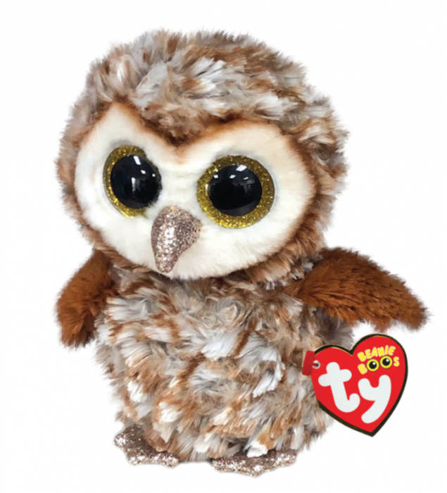 Beanie Boos Regular Percy - Brown Owl