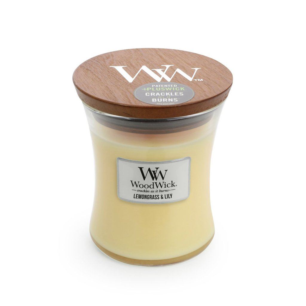 Lemongrass & Lily Medium - WoodWick Candle