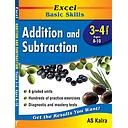 Excel Basic Skills - Addition and Subtraction (YEARS 3 - 4)
