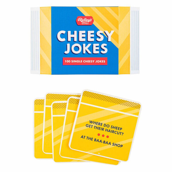 100 Cheesy Novelty Jokes - Ridley's Games Room