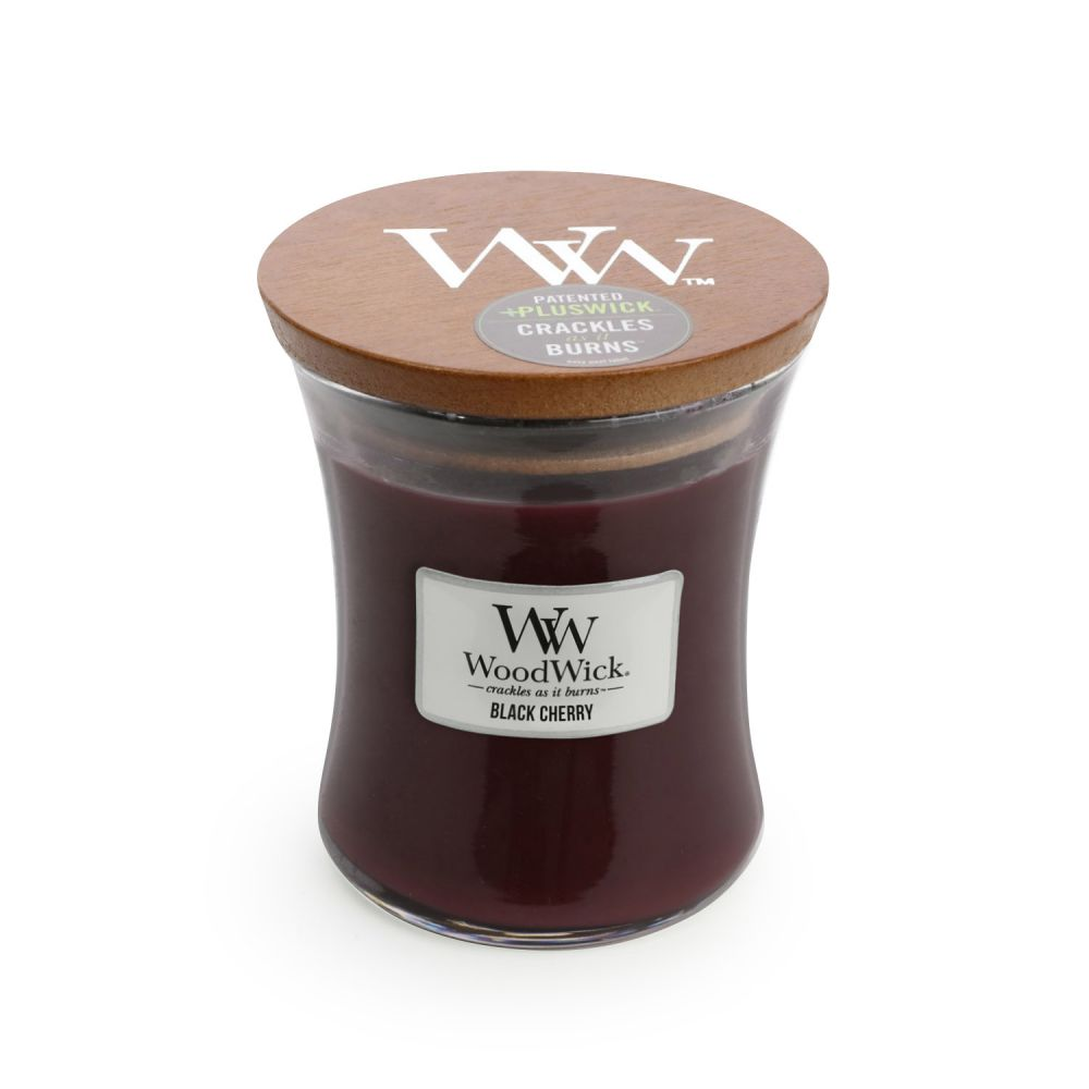 Black Cherry Medium - WoodWick Candle