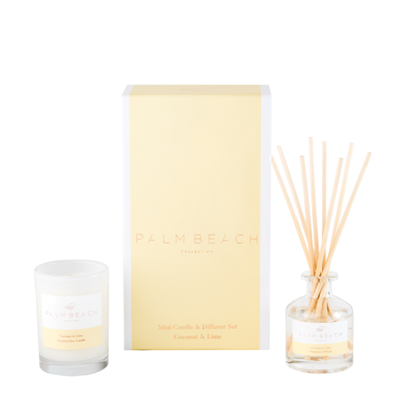 Mini Candle & Diffuser Pack - Coconut & Lime - Palm Beach Collection