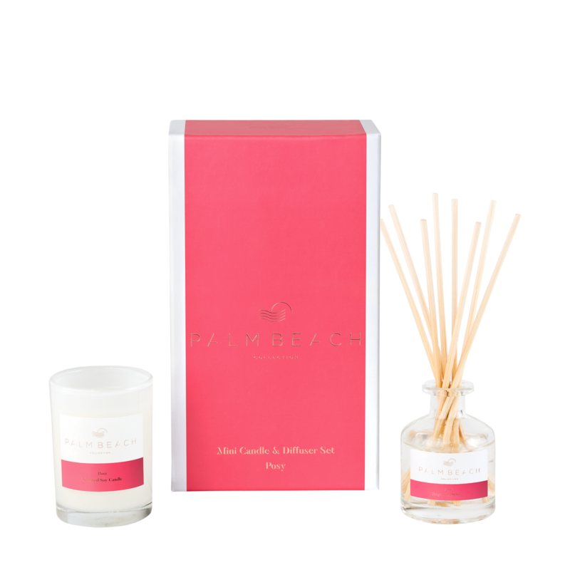 Mini Candle & Diffuser Pack - Posy - Palm Beach Collection