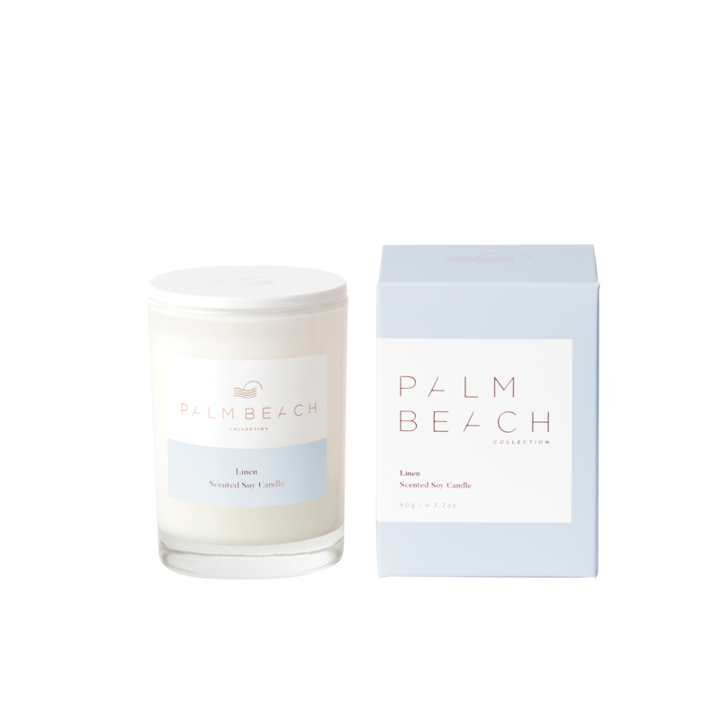 Mini Candle - Linen - Palm Beach Collection