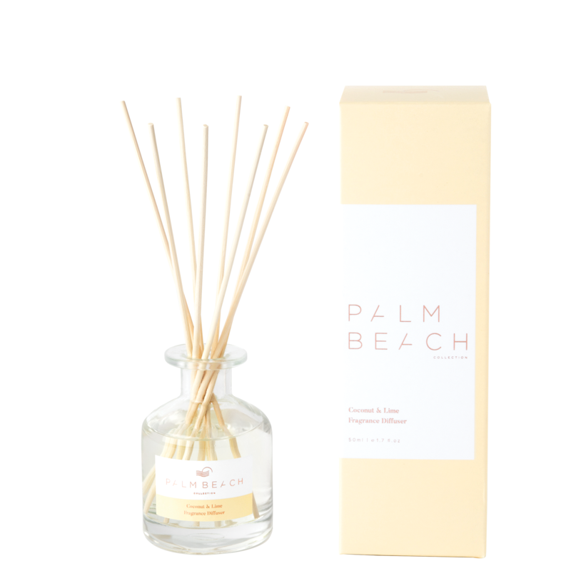 Mini Reed Diffuser - Coconut & Lime - Palm Beach Collection