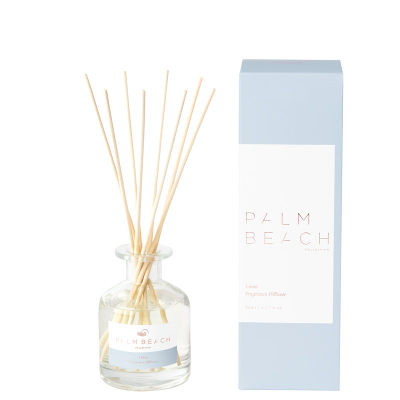 Mini Reed Diffuser - Linen - Palm Beach Collection