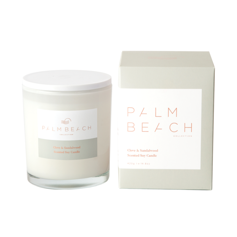 Standard Candle - Clove & Sandalwood - Palm Beach Collection