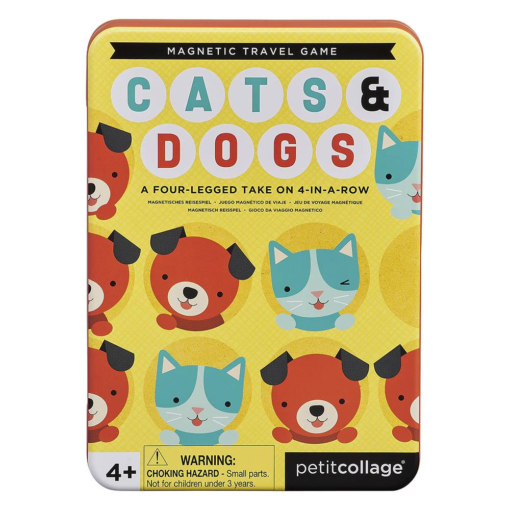 [PTC326] Cats & Dogs Four In A Row Magnetic Travel Game - W&W