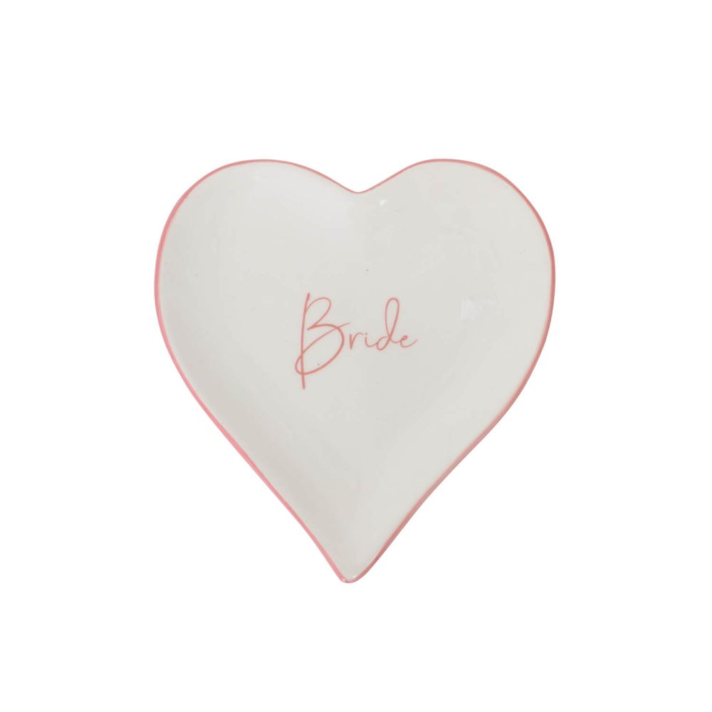 [WEDD048A] Wedding Bride Trinket Plate - Splosh