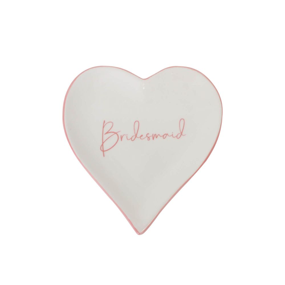 [WEDD048B] Wedding Bridesmaid Trinket Plate - Splosh