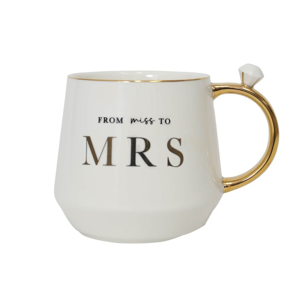 [WEDD047] Wedding Miss To Mrs Mug - Splosh
