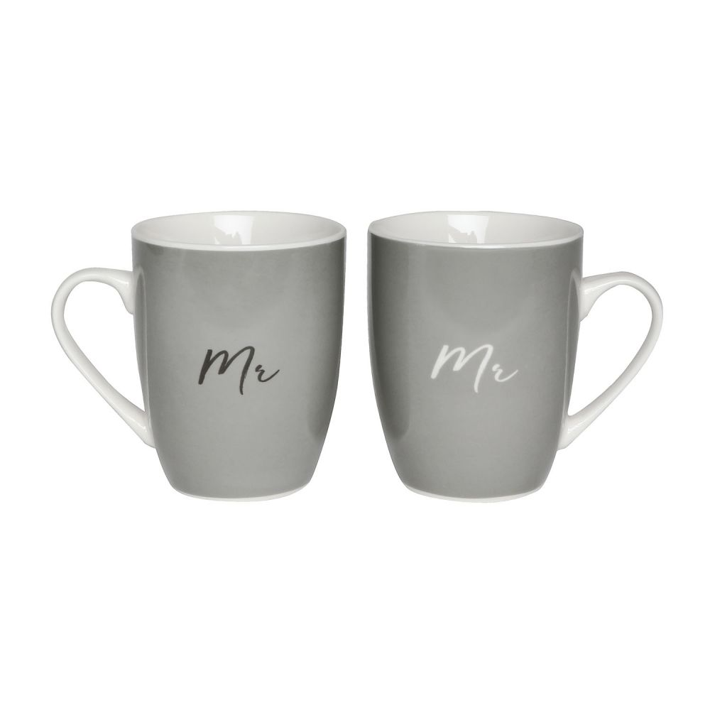 [WEDD032] Wedding Mr & Mr Mug Set - Splosh