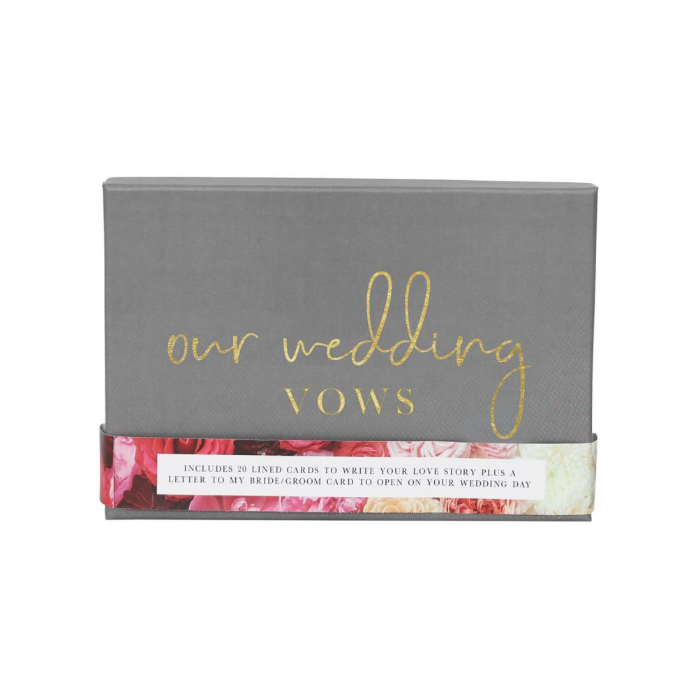 [STWE02] Wedding Vows Writing Set - Splosh
